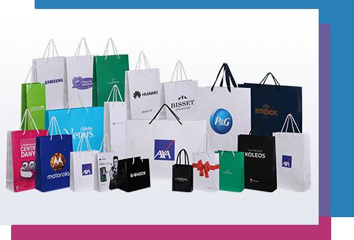 torby papierowe z nadrukiem